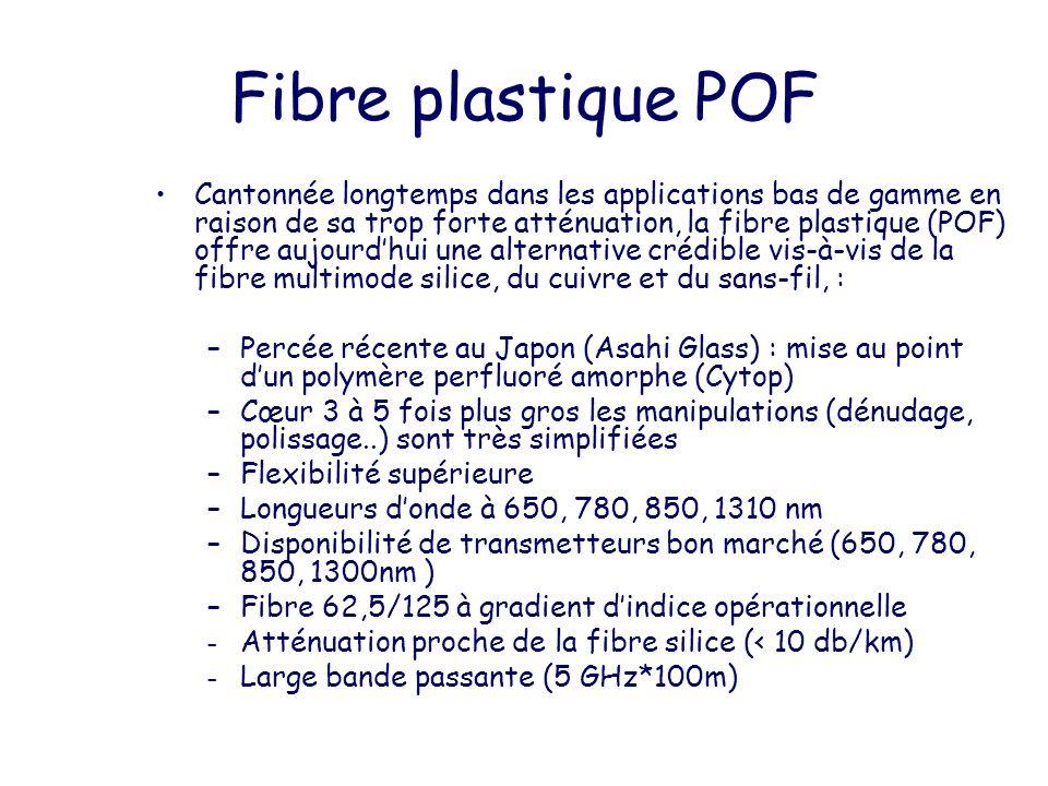 Fibre plastique POF