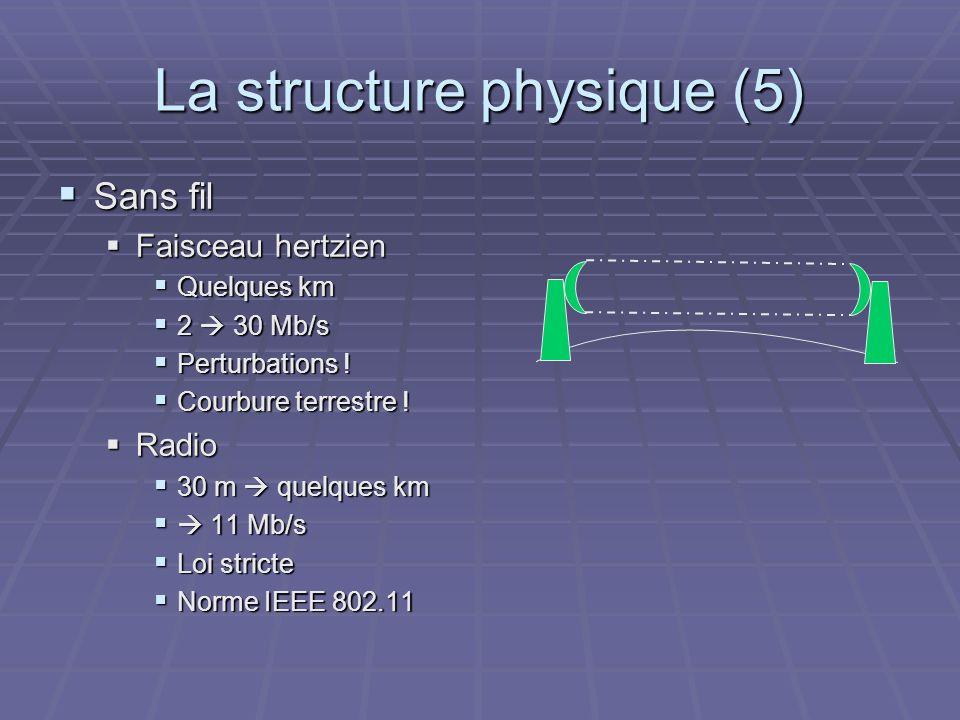 La structure physique (5)