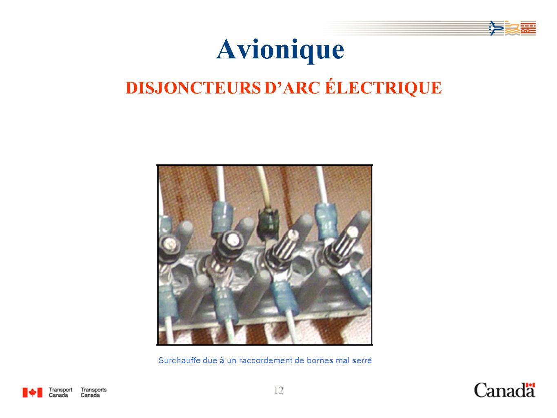 Avionique DISJONCTEURS D'ARC ÉLECTRIQUE