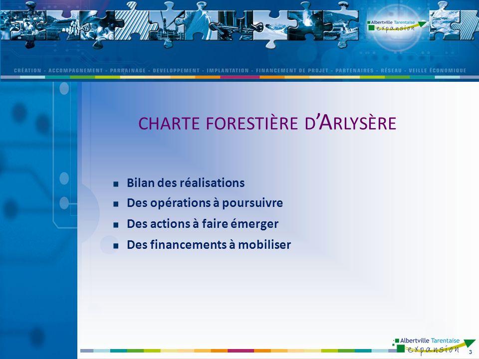 charte forestière d'Arlysère