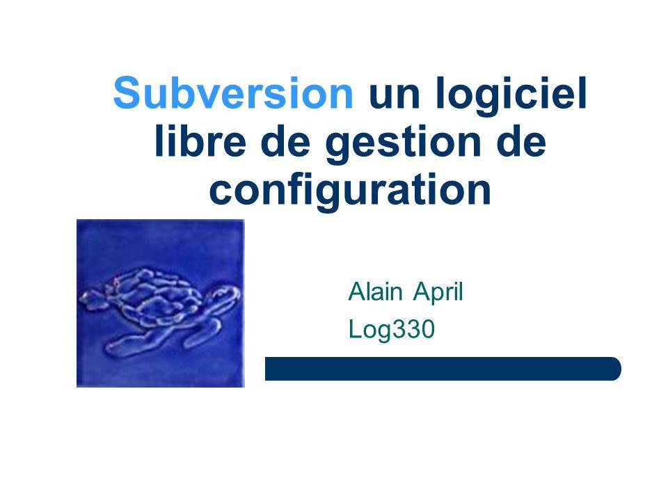 Subversion un logiciel libre de gestion de configuration