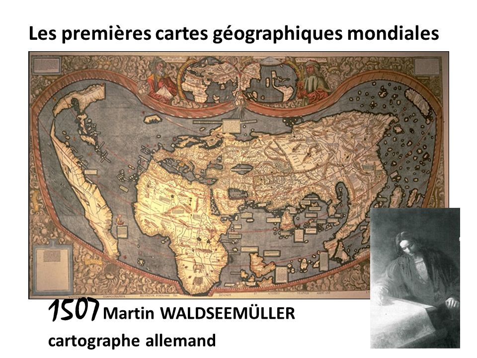 Les premières cartes géographiques mondiales