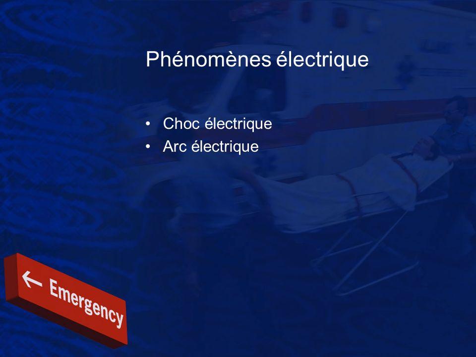 Phénomènes électrique