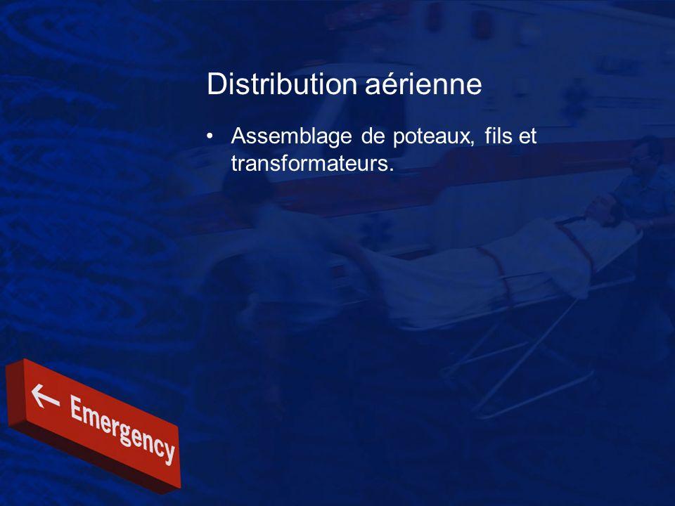 Distribution aérienne