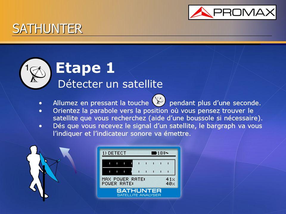 Etape 1 Détecter un satellite