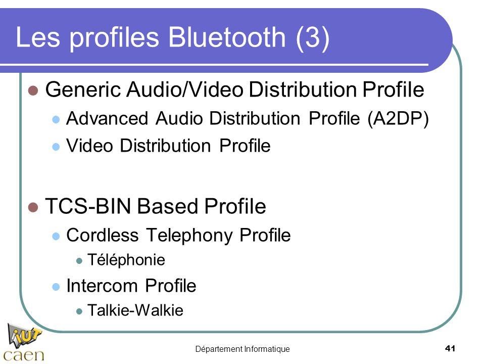 Les profiles Bluetooth (3)