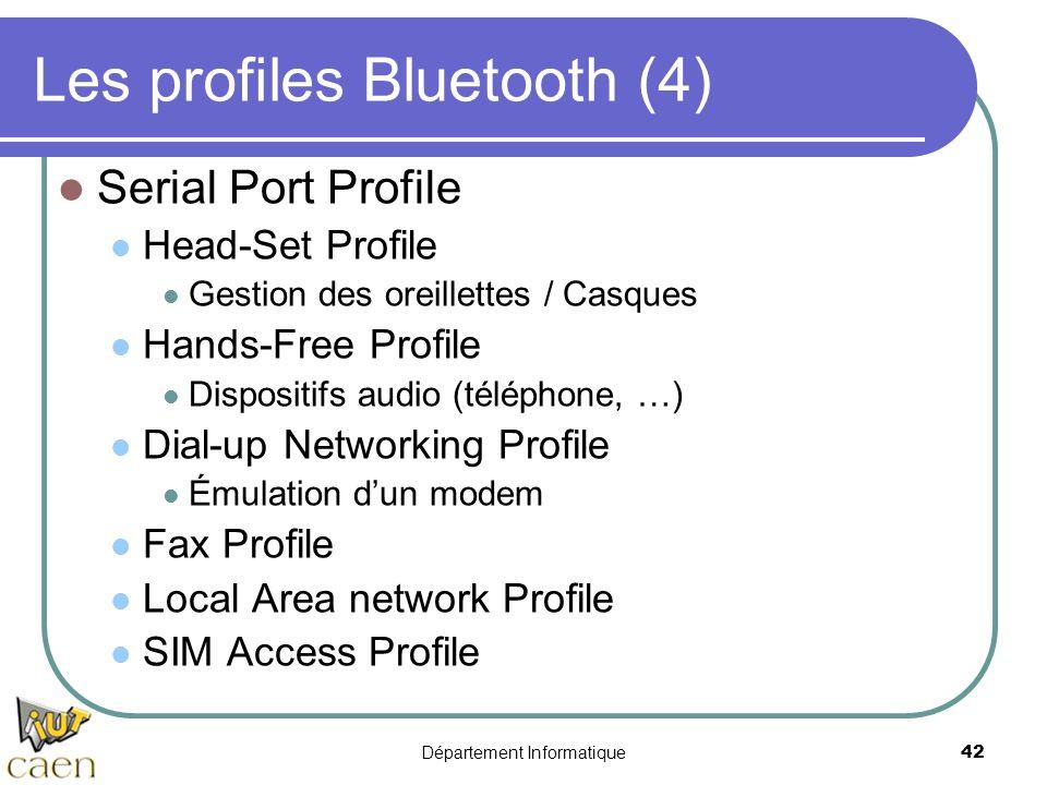 Les profiles Bluetooth (4)