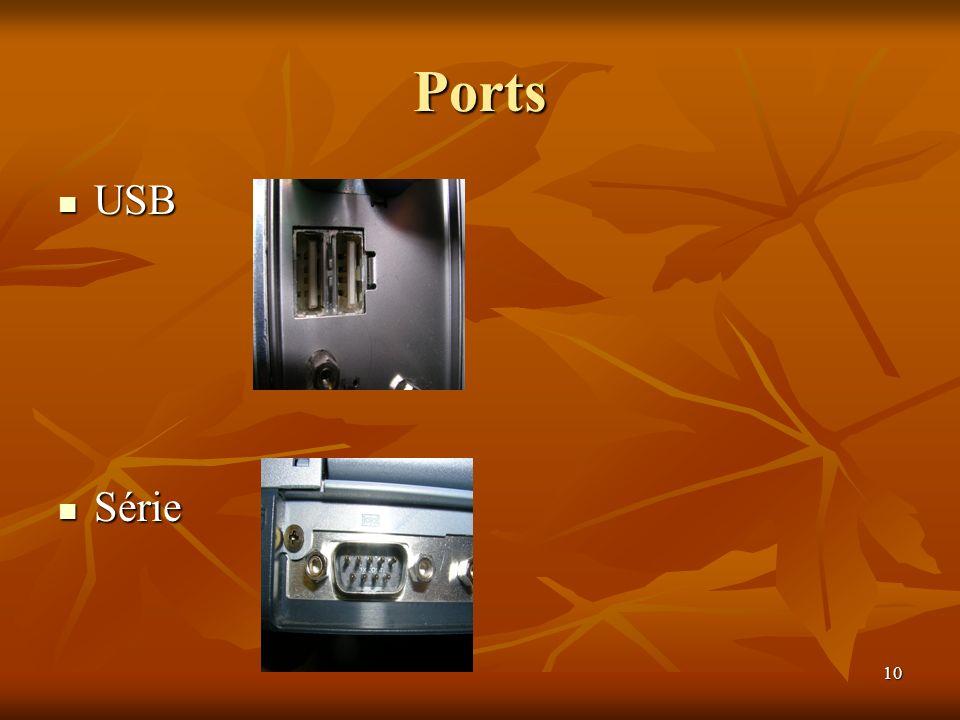 Ports USB Série