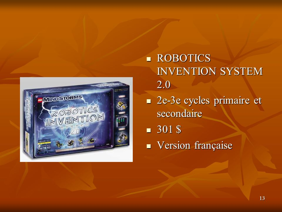 ROBOTICS INVENTION SYSTEM 2.0