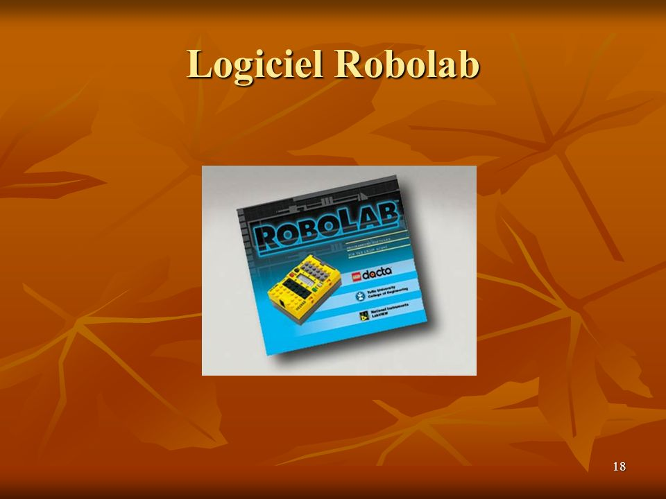 Logiciel Robolab