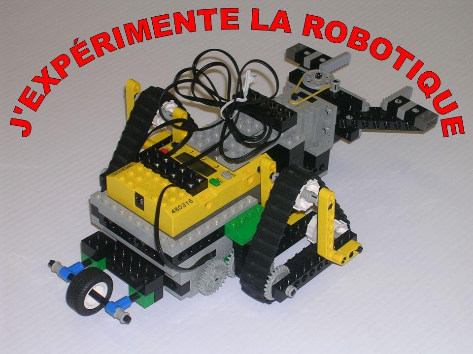 J EXPÉRIMENTE LA ROBOTIQUE