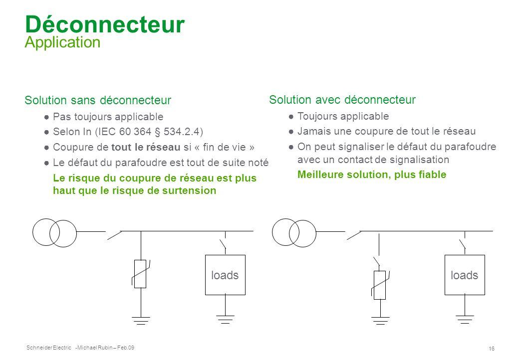 Déconnecteur Application