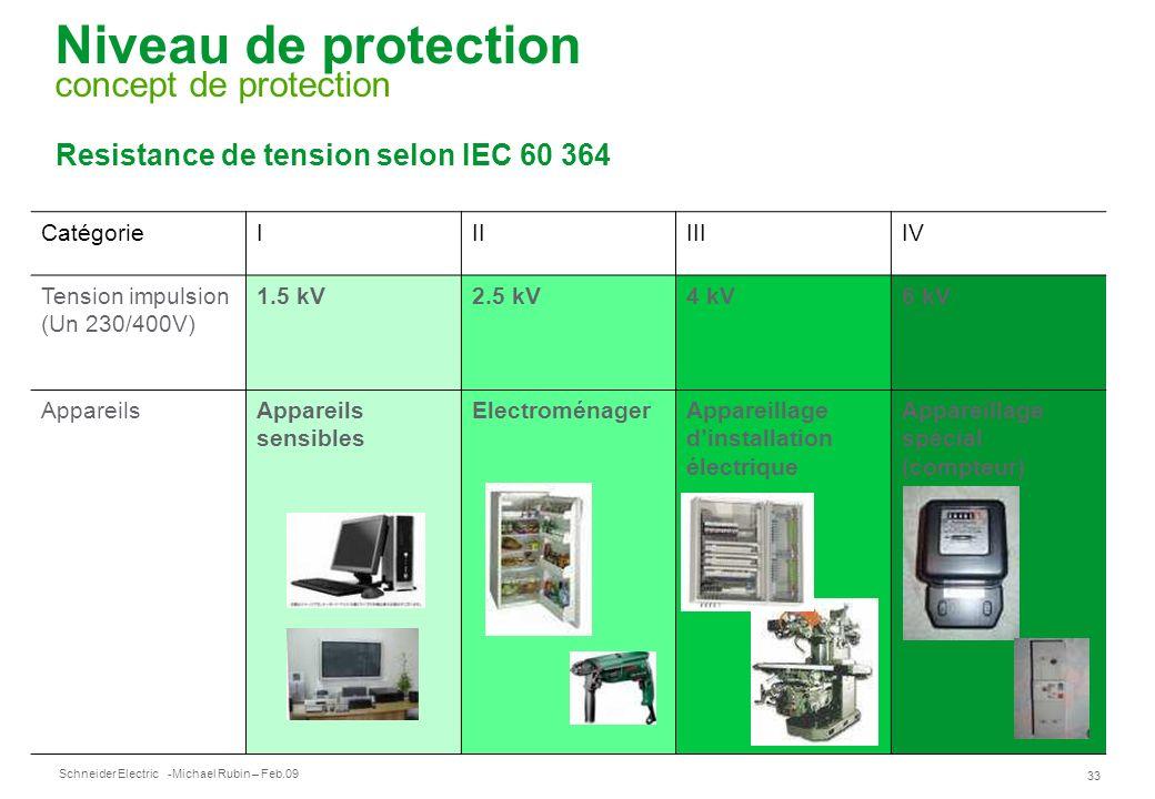 Niveau de protection concept de protection