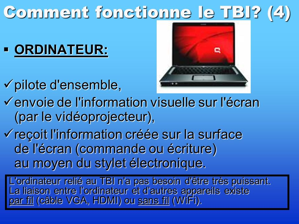 Comment fonctionne le TBI (4)