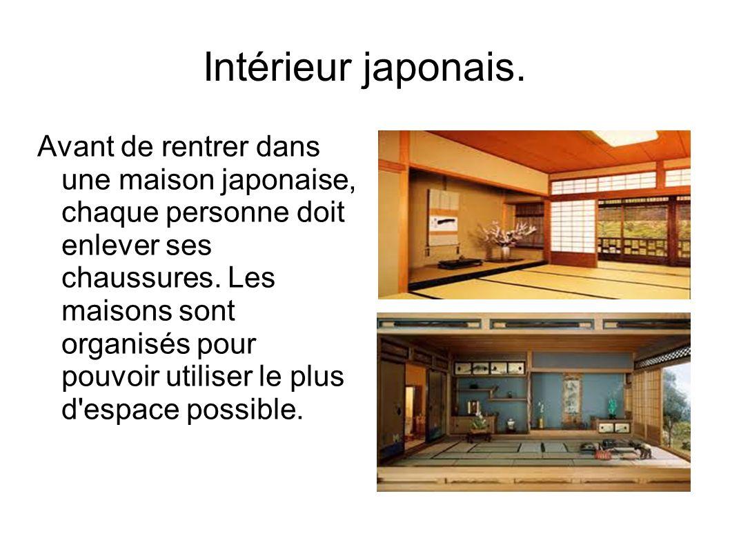 Intérieur japonais.