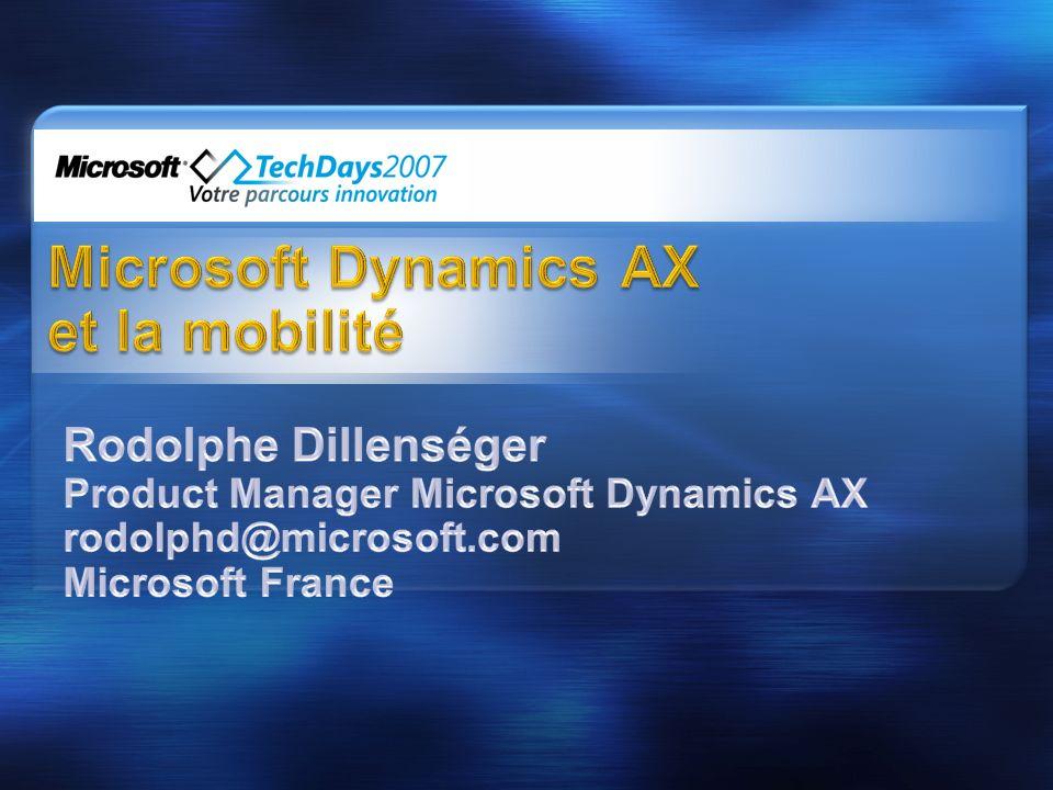 Microsoft Dynamics AX et la mobilité