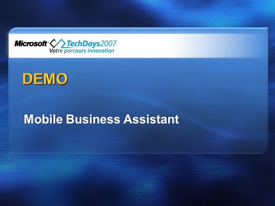 Mobile Business Assistant