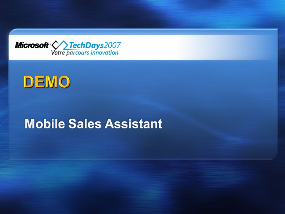 Mobile Sales Assistant