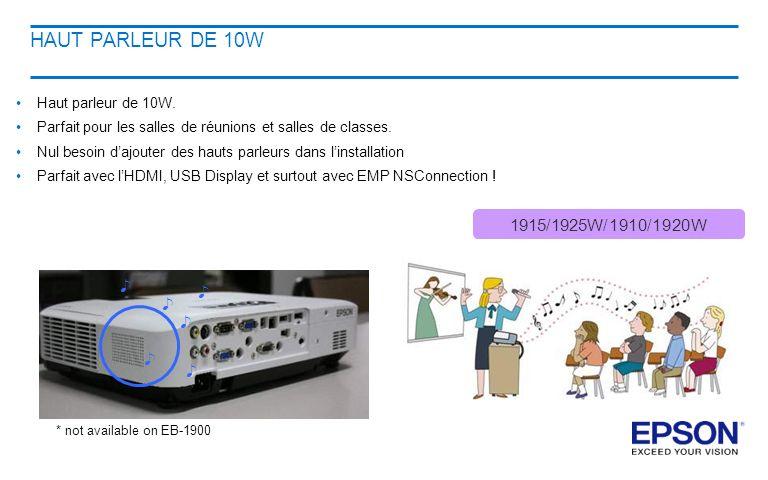 HAUT PARLEUR DE 10W ♪ 1915/1925W/1910/1920W Haut parleur de 10W.