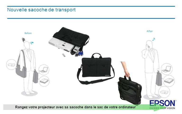 Nouvelle sacoche de transport
