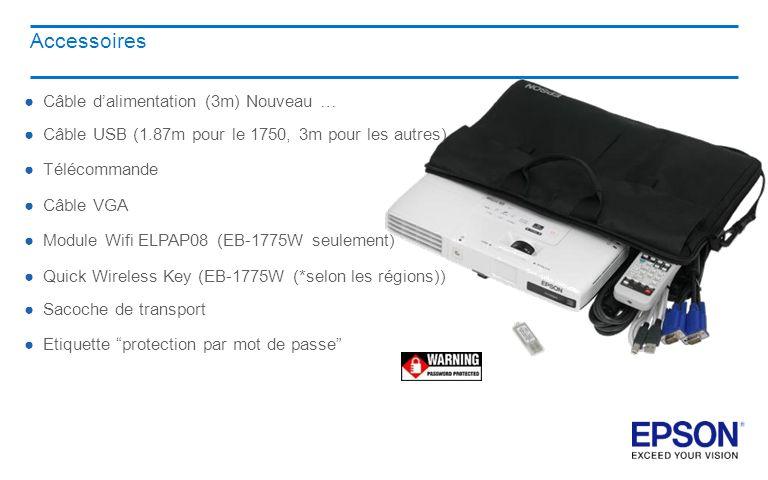 Accessoires Câble d'alimentation (3m) Nouveau …