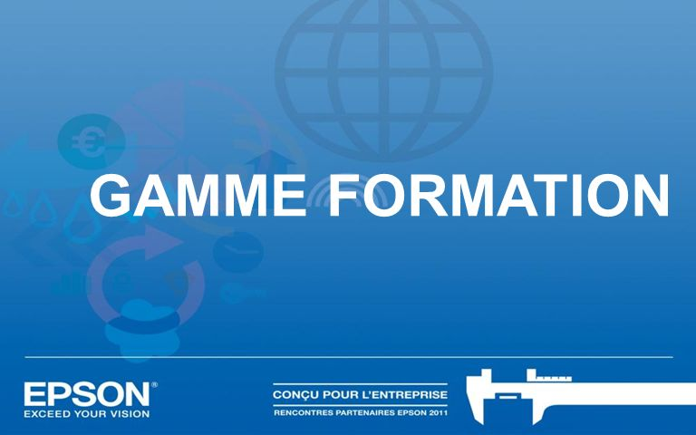 GAMME FORMATION