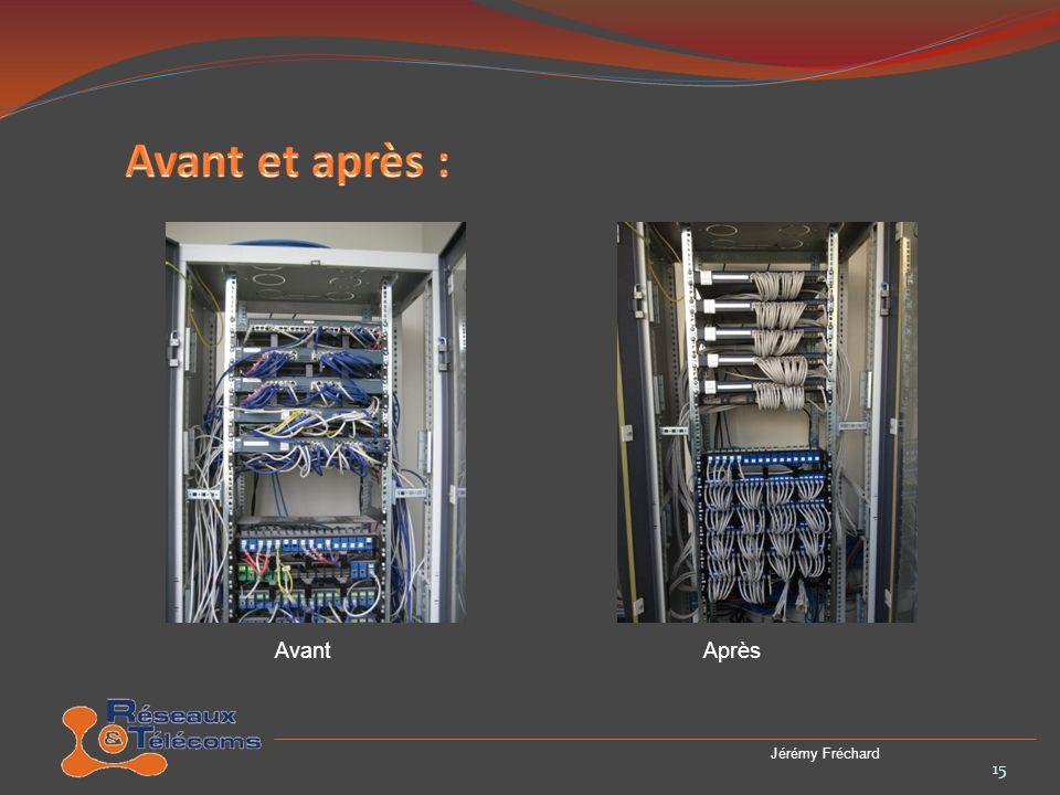 Avant et après : Avant Après Jérémy Fréchard