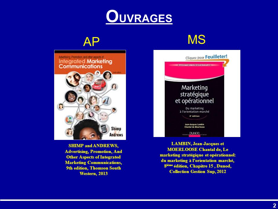 OUVRAGES MS. AP.