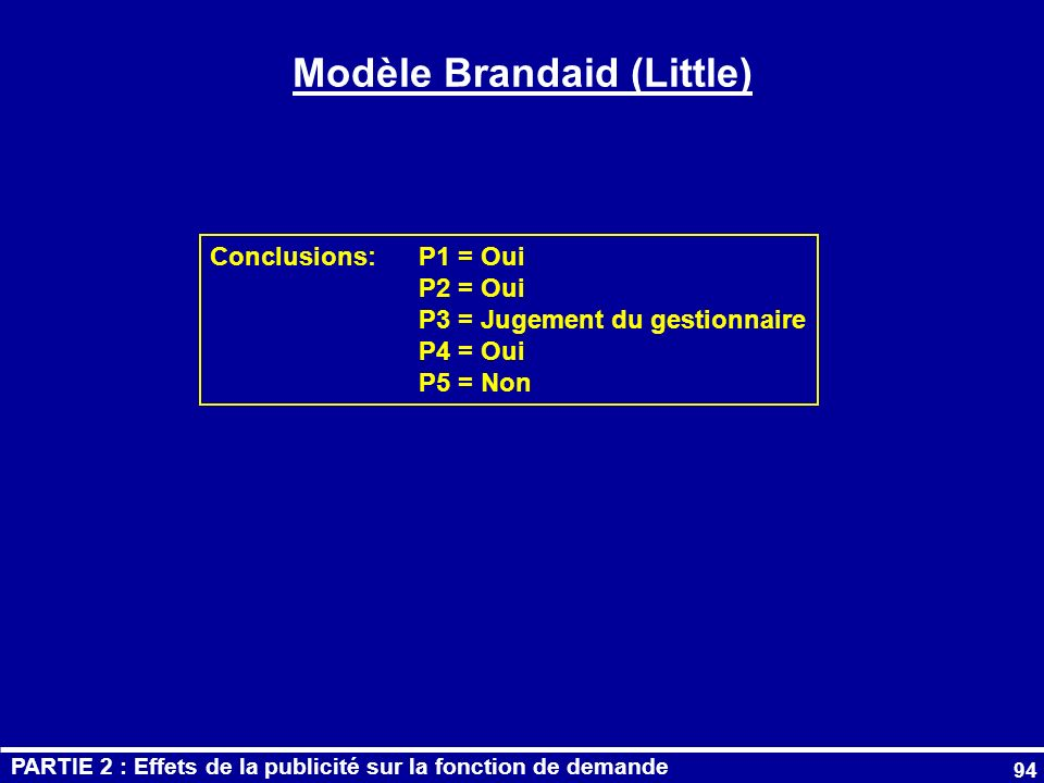 Modèle Brandaid (Little)