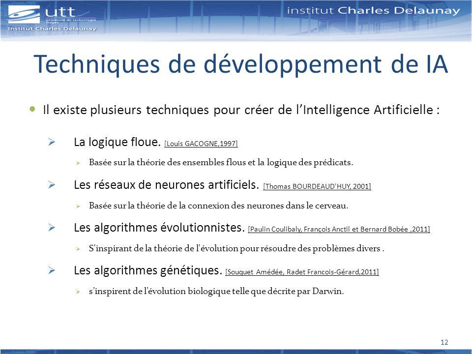 Techniques de développement de IA