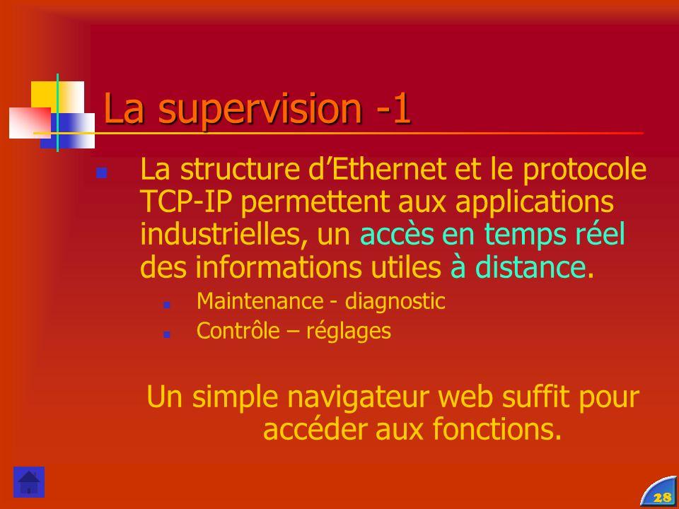 Un simple navigateur web suffit pour accéder aux fonctions.