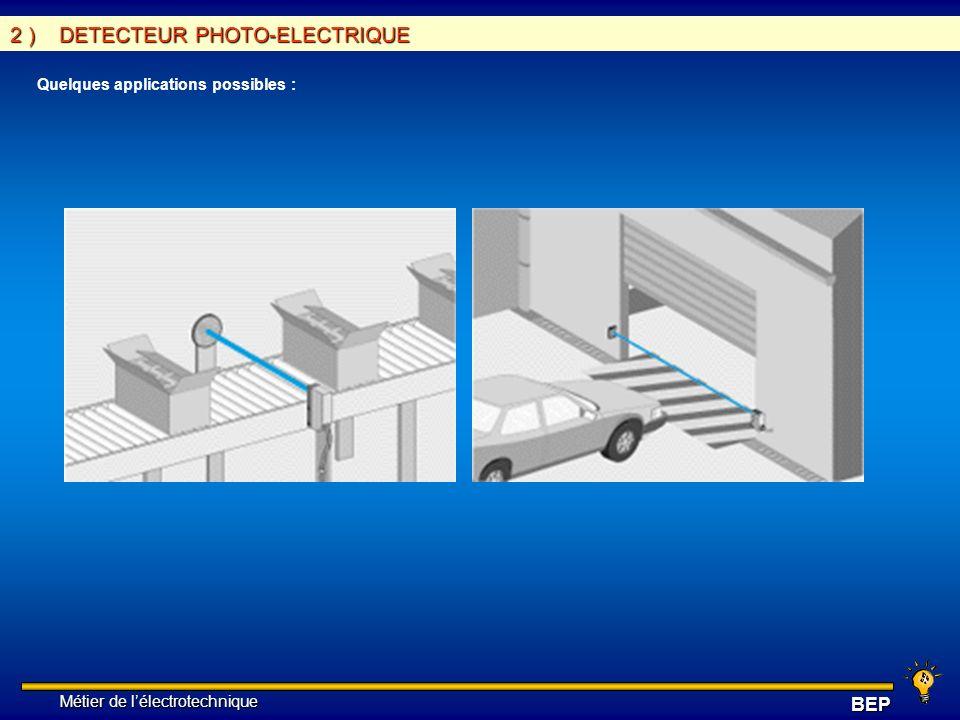 2 ) DETECTEUR PHOTO-ELECTRIQUE