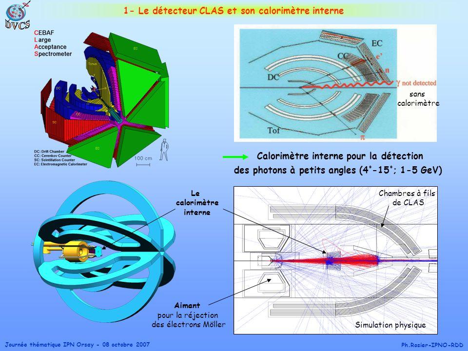 DVCS 1- Le détecteur CLAS et son calorimètre interne