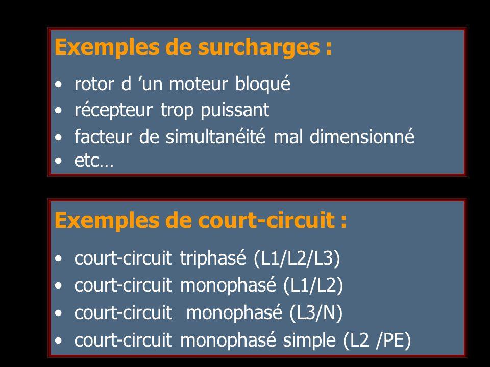 Exemples de surcharges :