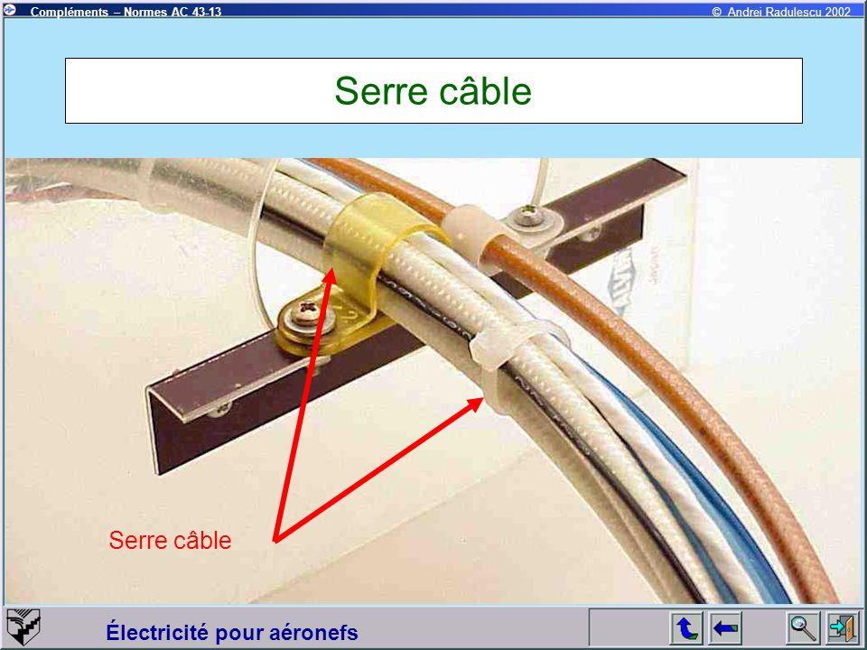 Serre câble Serre câble