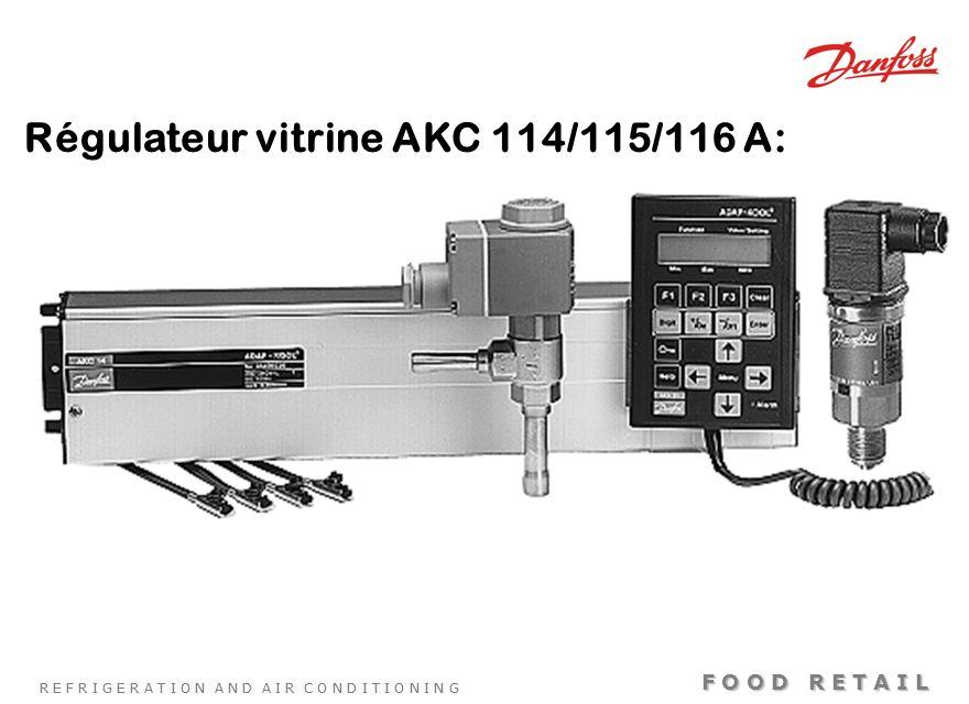 Régulateur vitrine AKC 114/115/116 A: