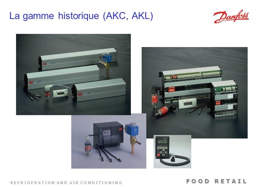 La gamme historique (AKC, AKL)