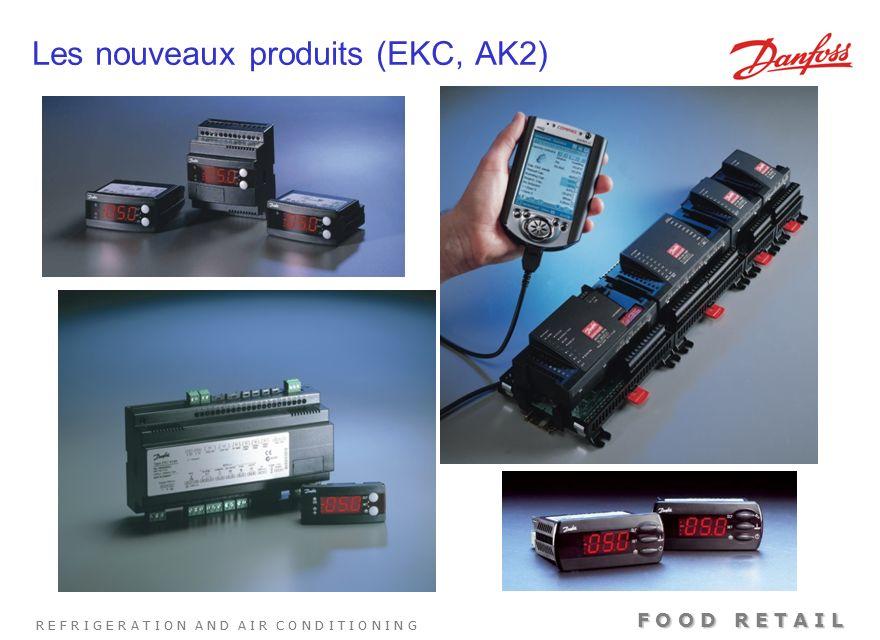 Les nouveaux produits (EKC, AK2)