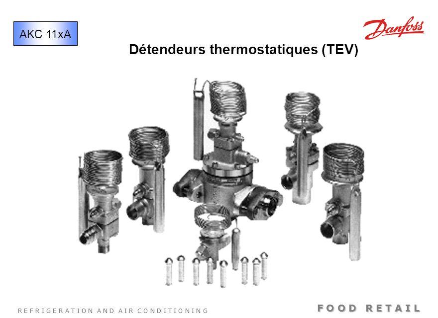 Détendeurs thermostatiques (TEV)
