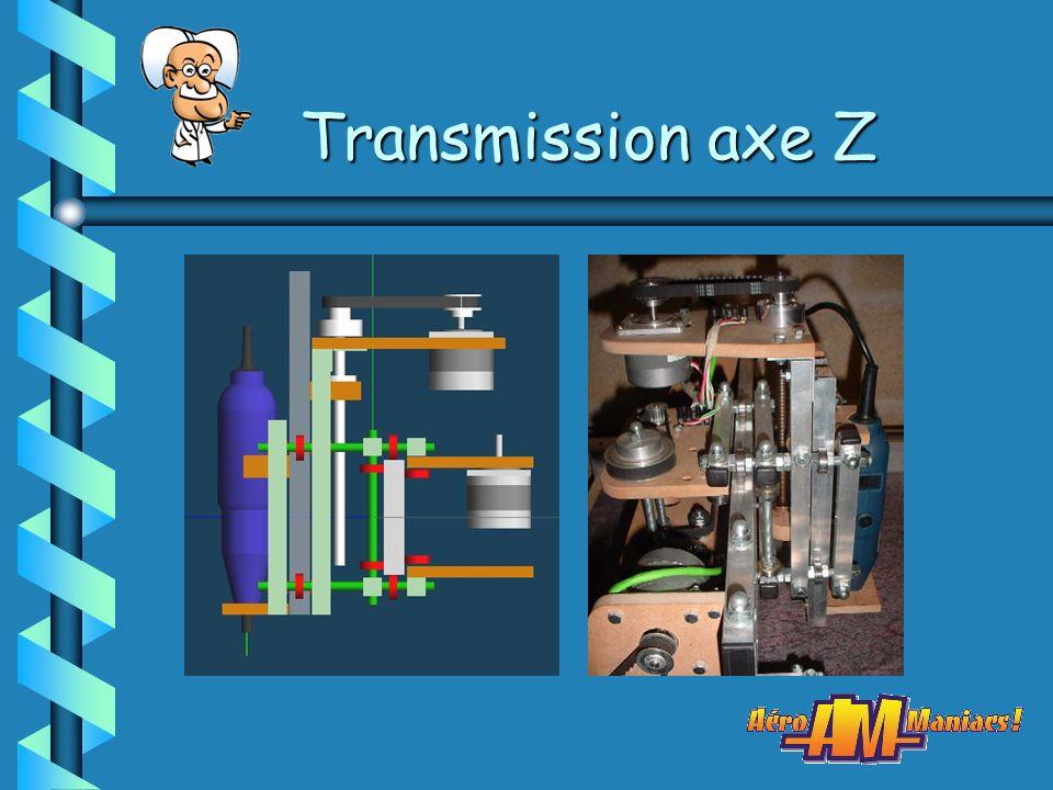 Transmission axe Z