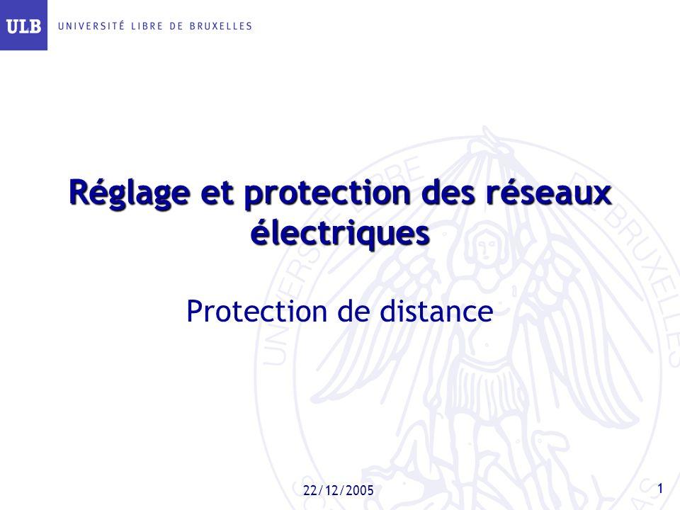 Réglage et protection des réseaux électriques