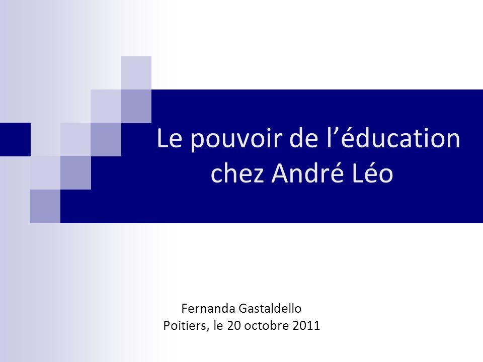 Le pouvoir de l'éducation chez André Léo