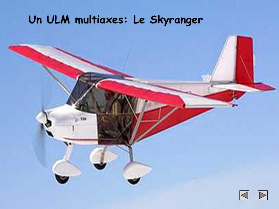 Un ULM multiaxes: Le Skyranger