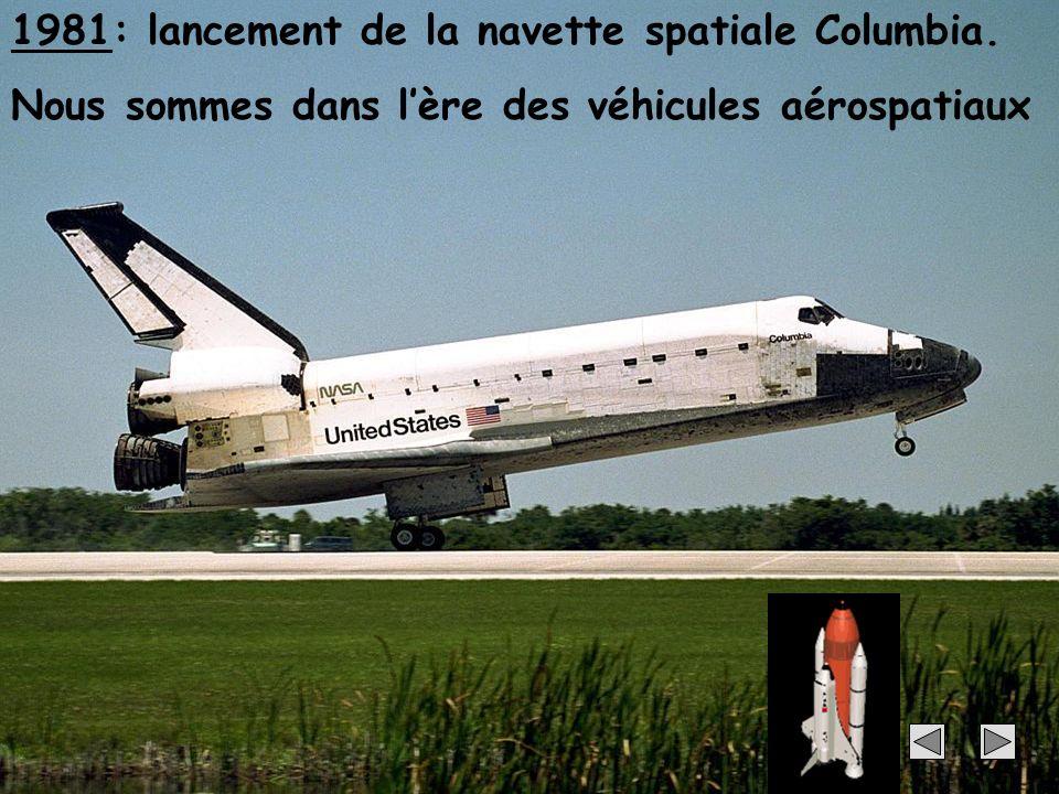 1981: lancement de la navette spatiale Columbia.