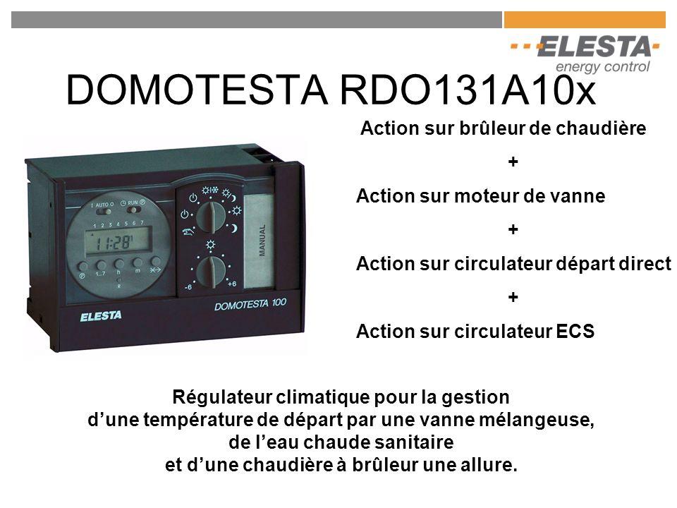DOMOTESTA RDO131A10x Action sur brûleur de chaudière +