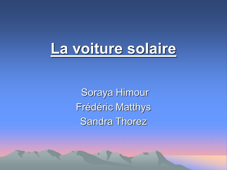 Soraya Himour Frédéric Matthys Sandra Thorez