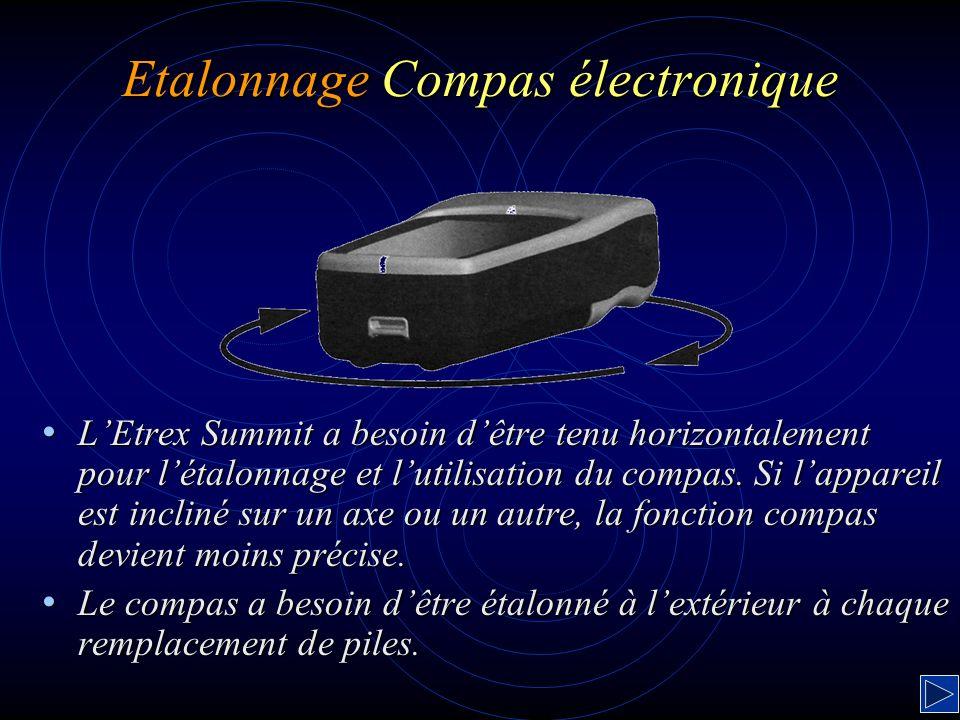 Etalonnage Compas électronique