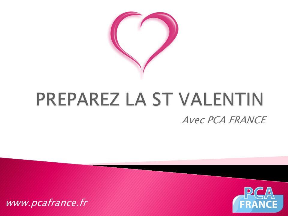 PREPAREZ LA ST VALENTIN