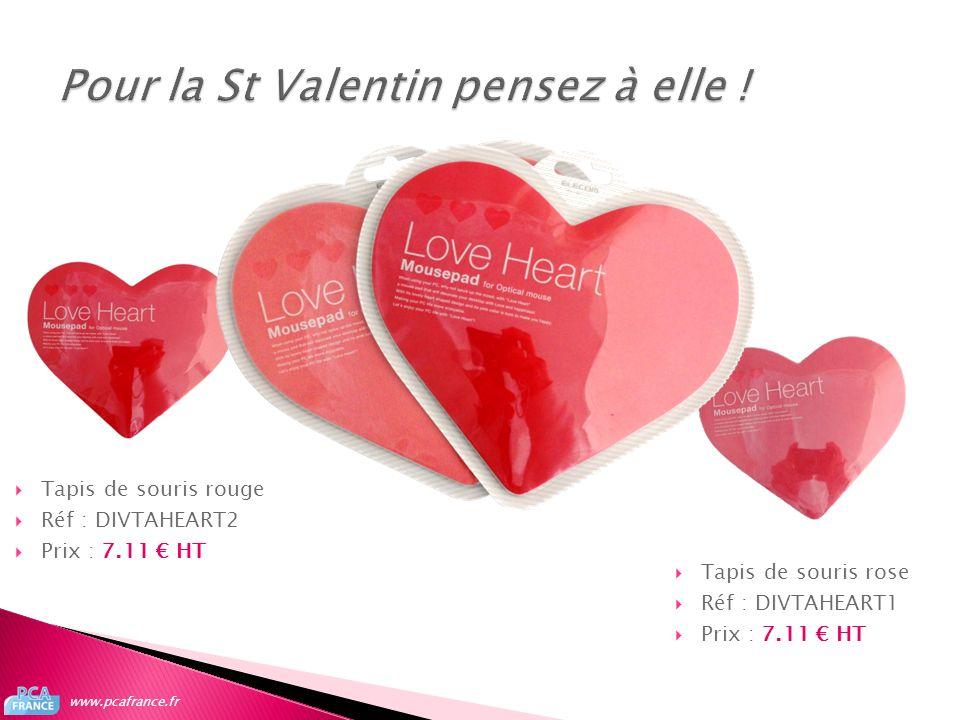 Pour la St Valentin pensez à elle !