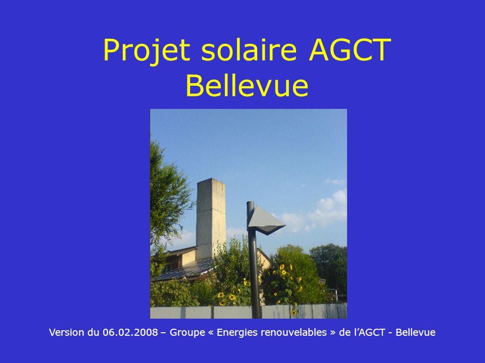 Projet solaire AGCT Bellevue